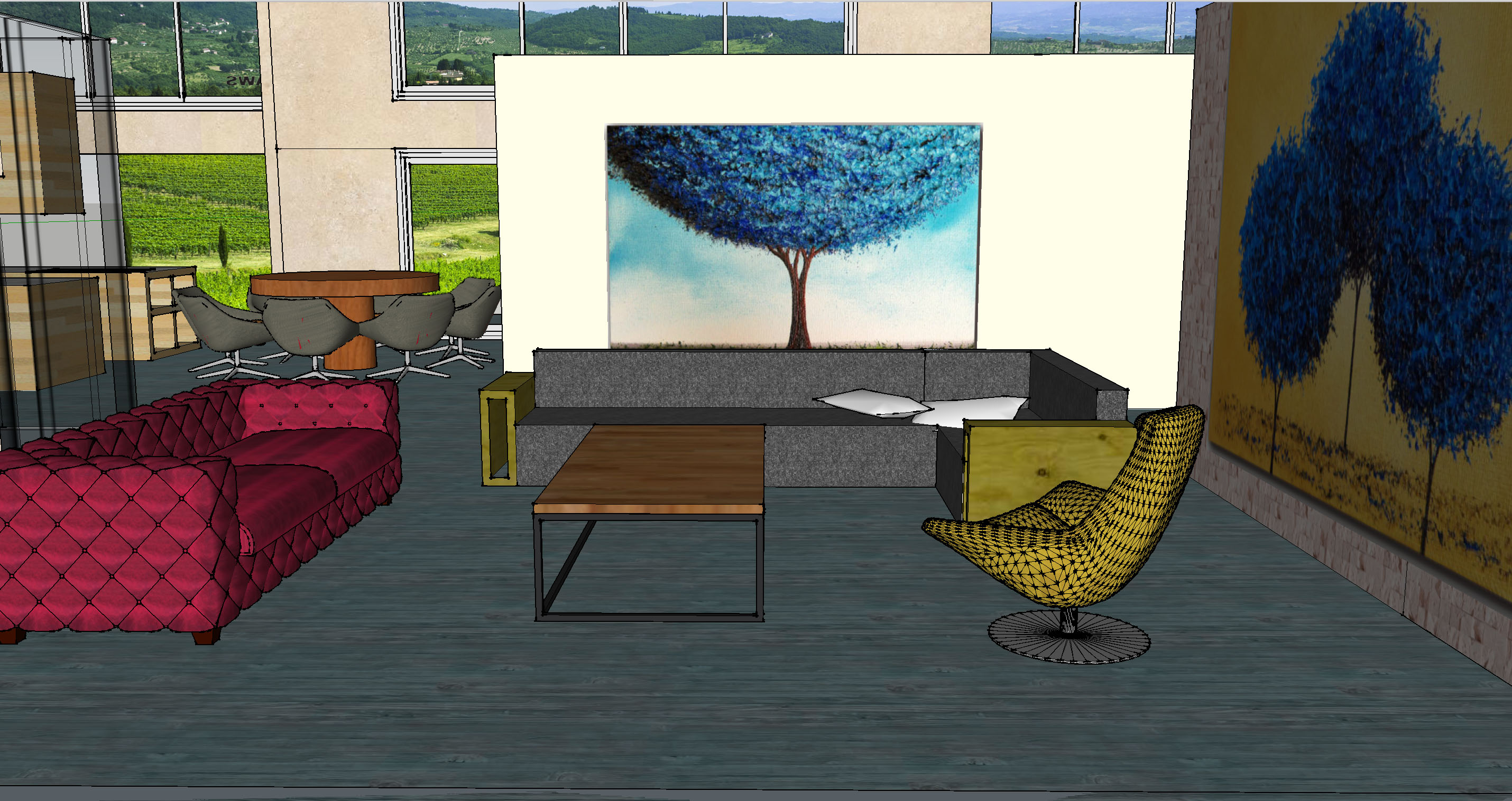 Living Room Elevation 2