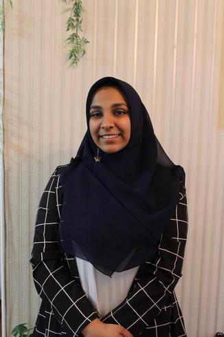 Fundraising Cordinator Aimen Hassan