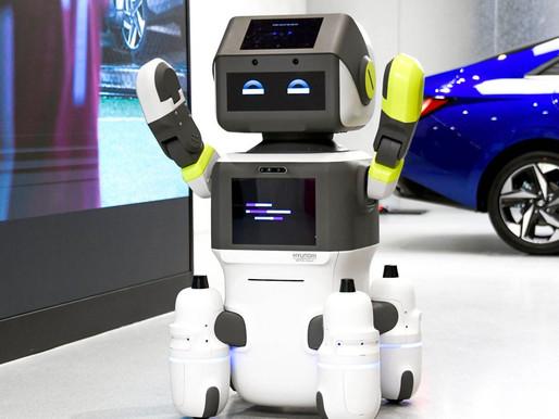 Hyundai, Gelişmiş İnsansı Robot 'DAL-e'yi Tanıttı