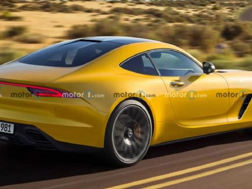 Yeni Nesil Mercedes AMG GT'nin Render Görüntüleri Ortaya Çıktı