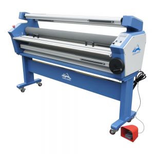 Qomolangma 55in Full-auto Wide Format Cold Laminator, with Heat Assist