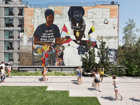Chelsea High Line Public Art Installation