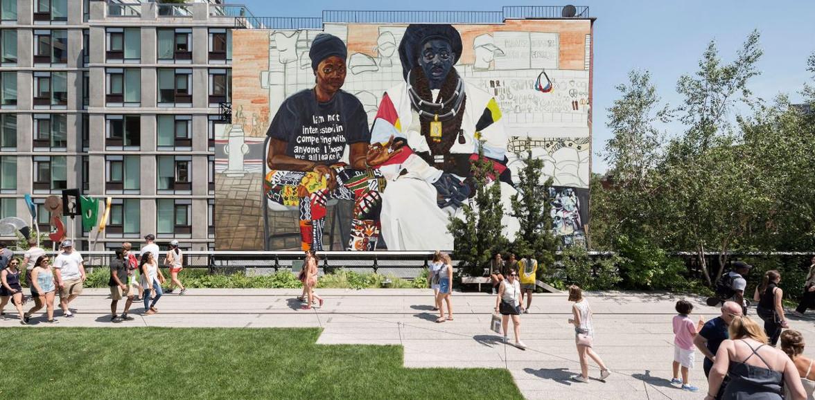 High Line Mural - The Baayfalls