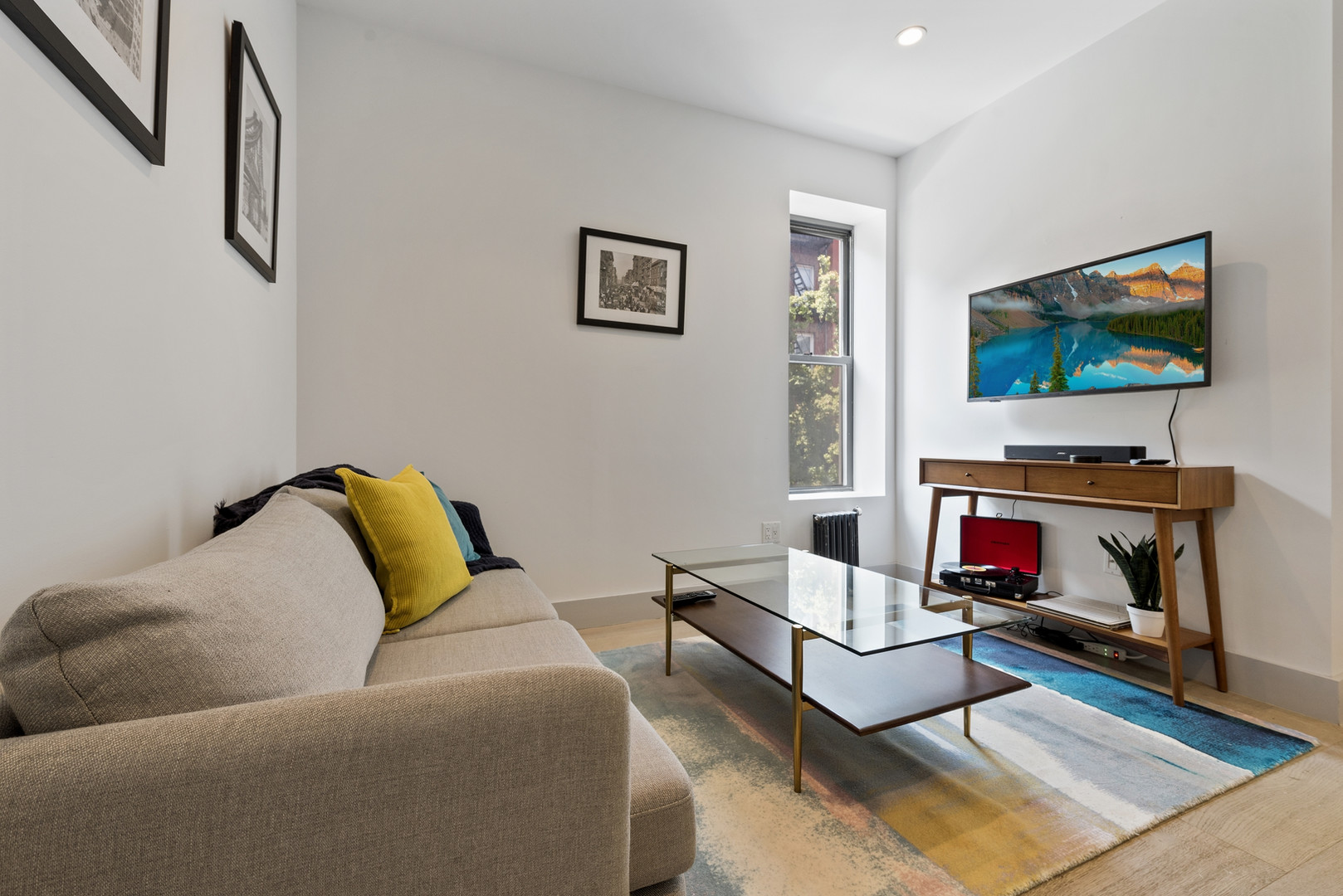 The East Village Living Area