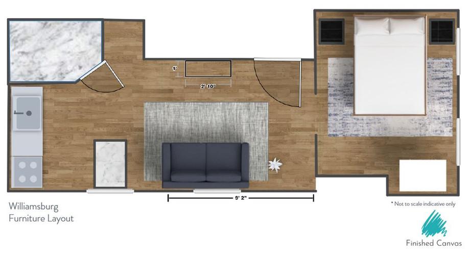 Williamsburg Furniture Layout
