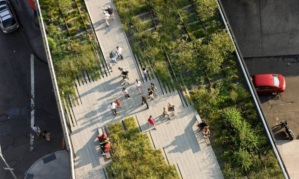 The Highline Aerial