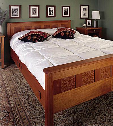 Queen - size bed