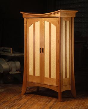 Prayer shawl cabinet