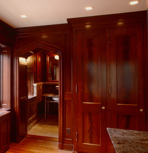 Dressing room cabinetry
