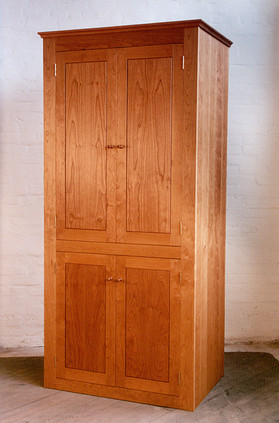 Shaker-style armoire