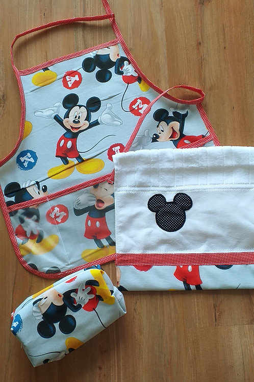 Kit Escolinha Mickey