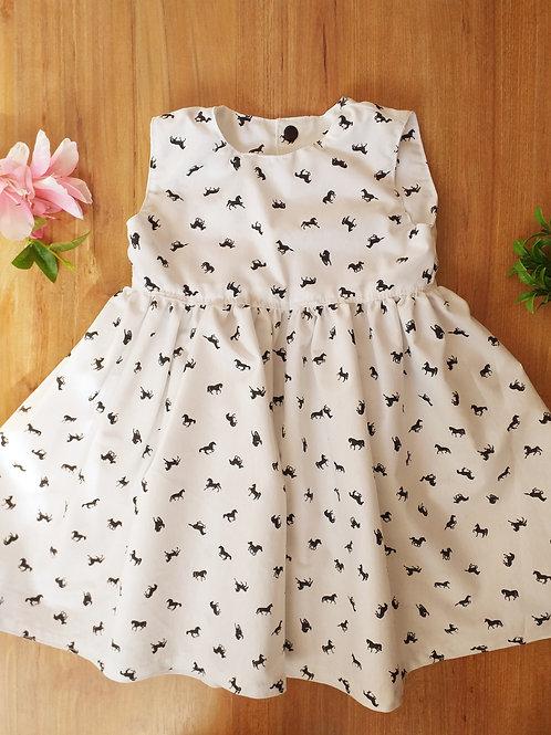 Vestido cavalinhos