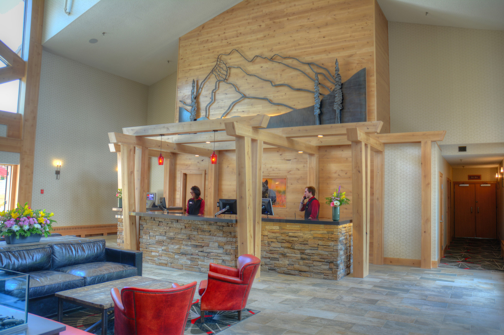 Banff Rocky Mountain Resort Lobby