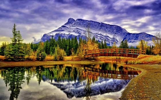 cascascading-pond-banff-alberta-canada-p