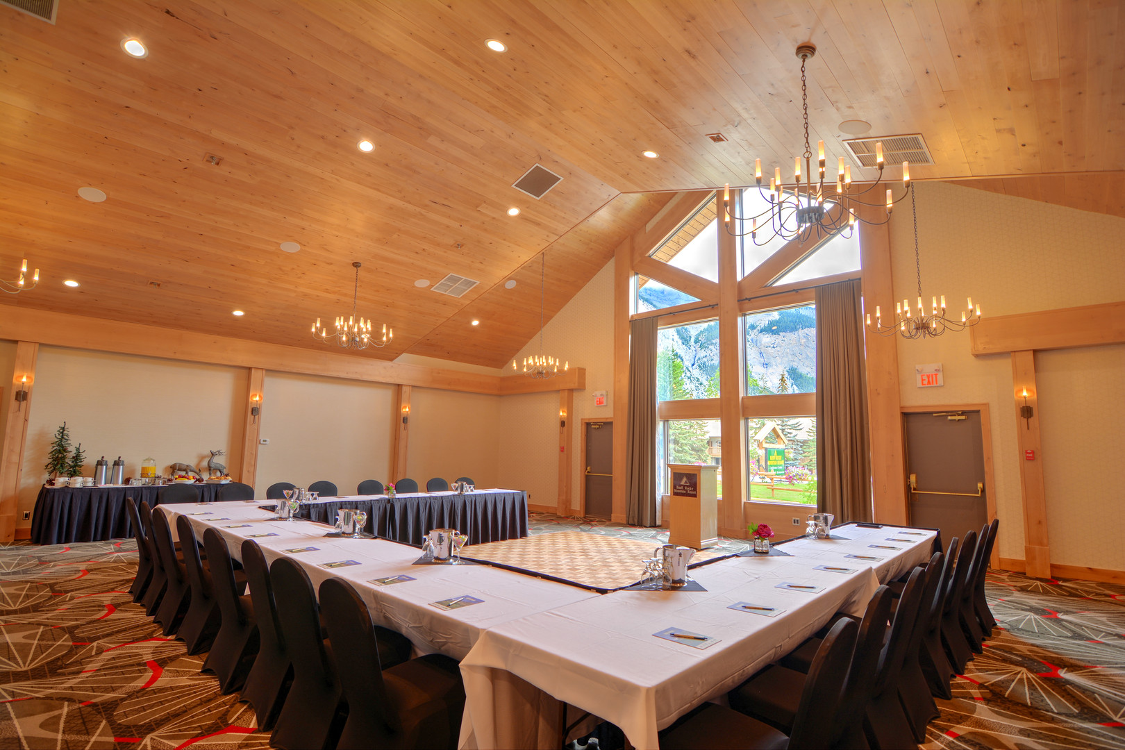 Banff Rocky Mountain Resort Conference Room