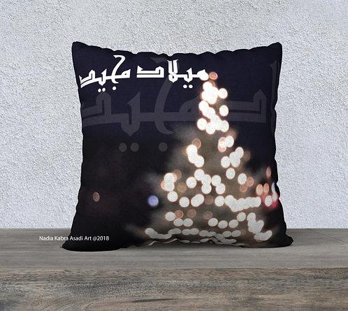 Christmas Velvet Pillow Cover