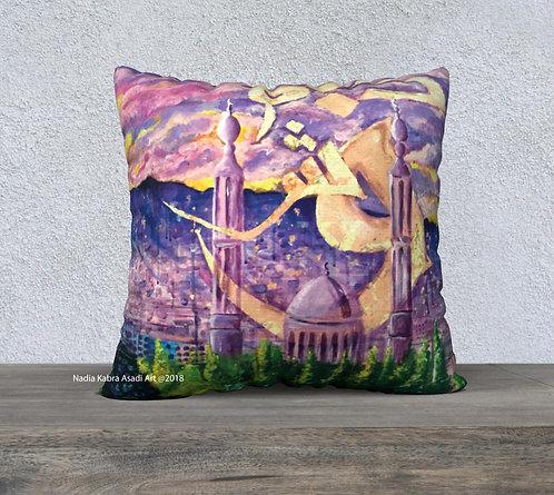 Damas Velvet Pillow cover