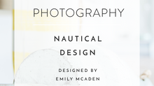 NAUTICAL DESIGN WITH EMILY MCADEN