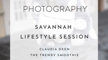 BRAND PHOTOGRAPHY: SAVANNAH LIFESTYLE SESSION WITH CLAUDIA DEEN OF THE TRENDY SMOOTHIE