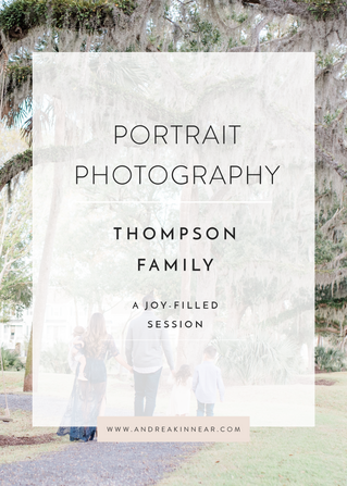 THOMPSON FAMILY: A JOY-FILLED SESSION
