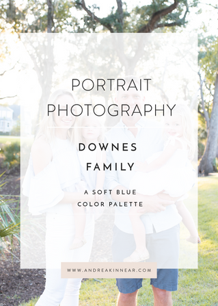 DOWNES FAMILY: A SOFT BLUE COLOR PALETTE