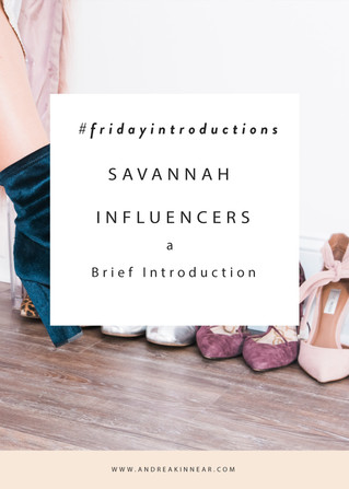 THE SAVANNAH INFLUENCERS