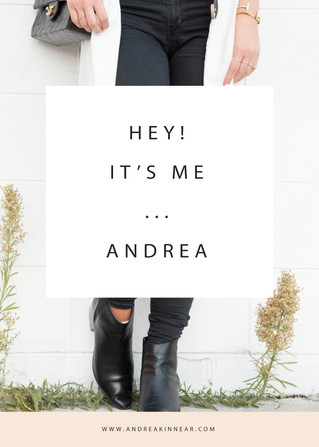 HEY! IT'S ME... ANDREA