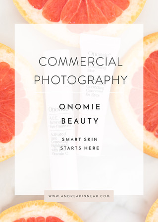 COMMERCIAL PHOTOGRAPHY: ONOMIE BEAUTY
