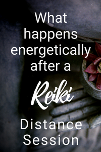 What happens energetically after a Glimmer Academy Reiki Distance Session