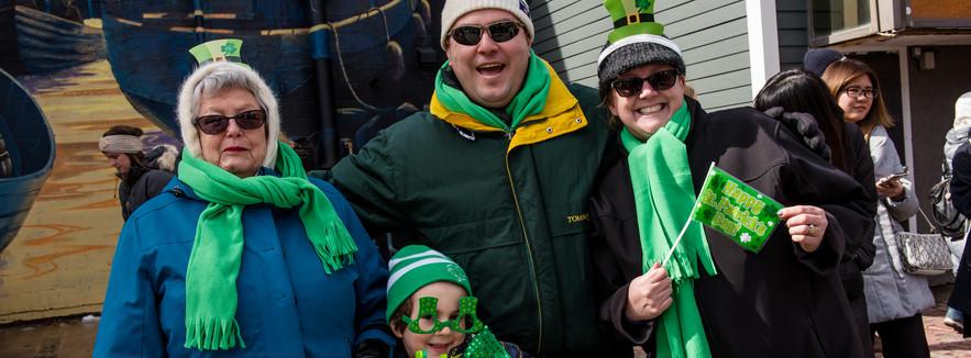 Fun at Halifax St. Patrick's Day Parade 2019