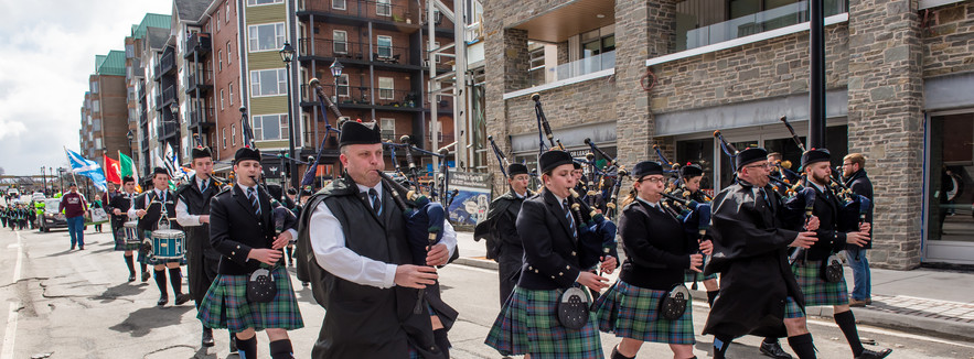 Pipe and drum bands
