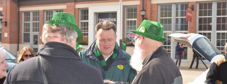 Parade Marshal Mayor Mike Savage