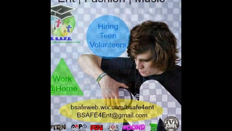 BSAFE4Ent Promo - Now Hiring Volunteers - Official Branding & Public Relations for BSAFE & its Events