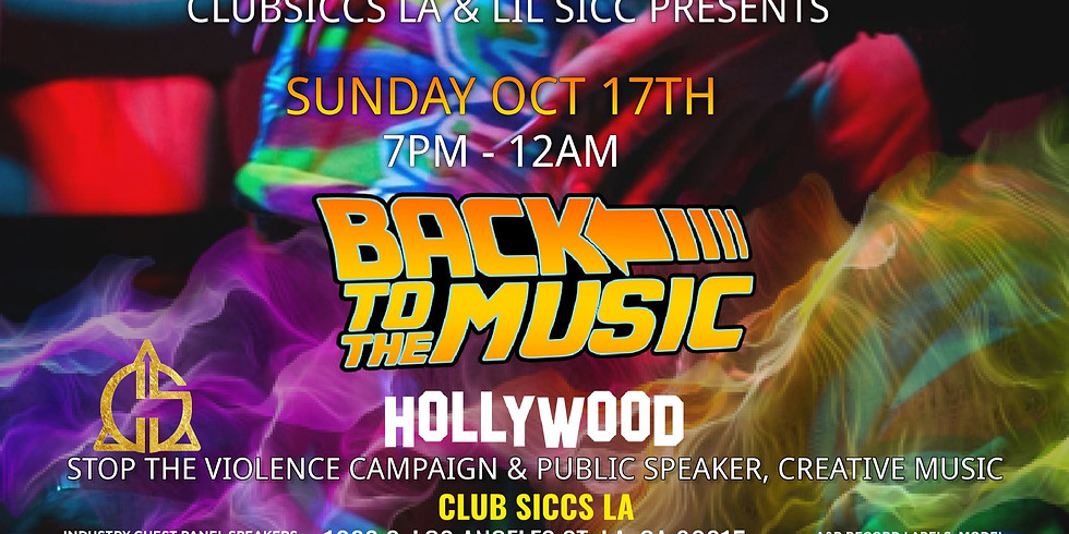 Back to the Music Hollywood - Showcase & Industry Mixer