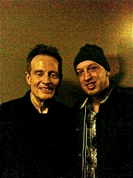 John Paul Jones and Mark Klepaski