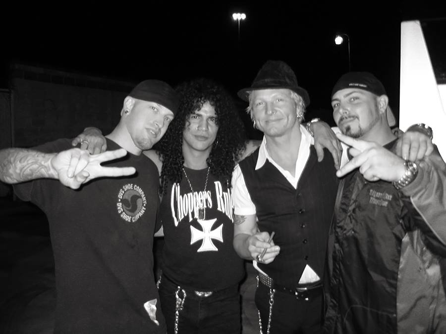 Mark, Slash, Matt Sorensen, BC