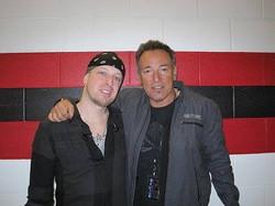 Mark Klepaski and Bruce Springsteen