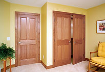 QuickShip Stained Stile and Rail Wood Doors