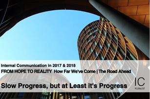 Slow Progress, but at Least it's Progress