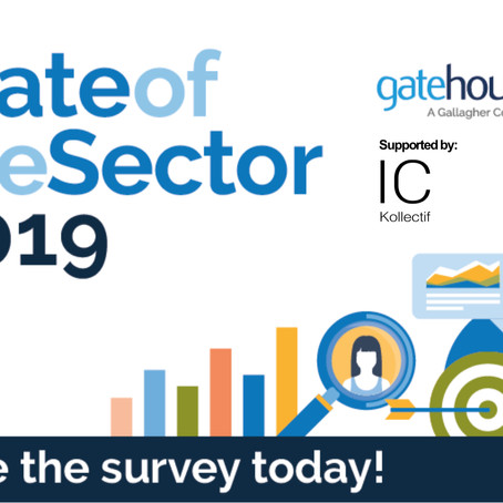 State of the Sector 2019 live in 5 languages