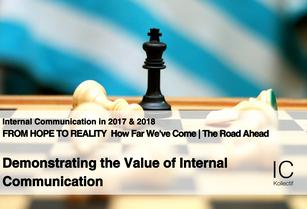Demonstrating the Value of Internal Communication