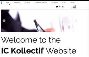 IC Kollectif Launches a Global Website