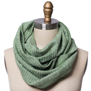 Anne of Green Gables Book Scarf