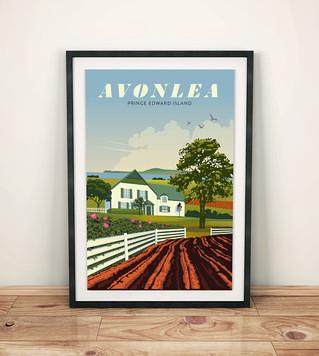 Avonlea Travel Poster