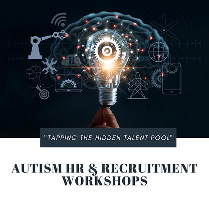 Autism HR & Recruitment Workshops Webpag