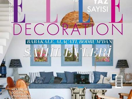 Elle Decoration röportajımız