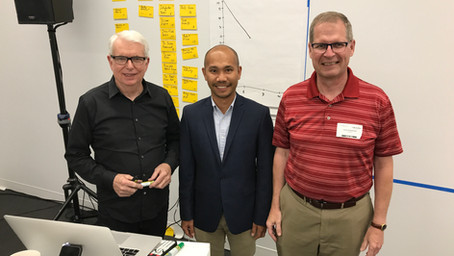 First time with Jeff Sutherland, one of the fathers of Scrum