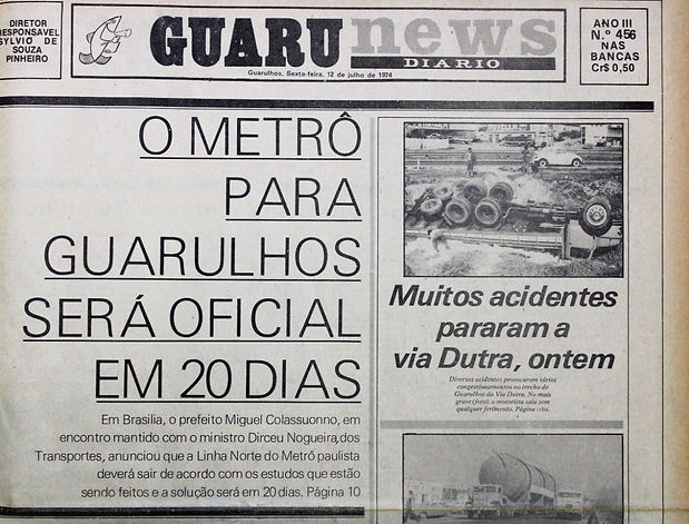33 Primeiro Jornal Diário (1971)... Folha Metropolitana.jpeg