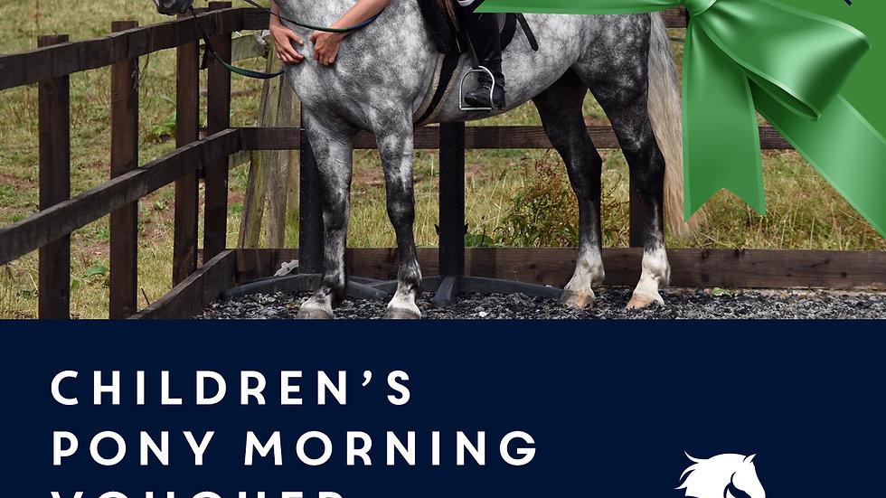 Children's Pony Morning