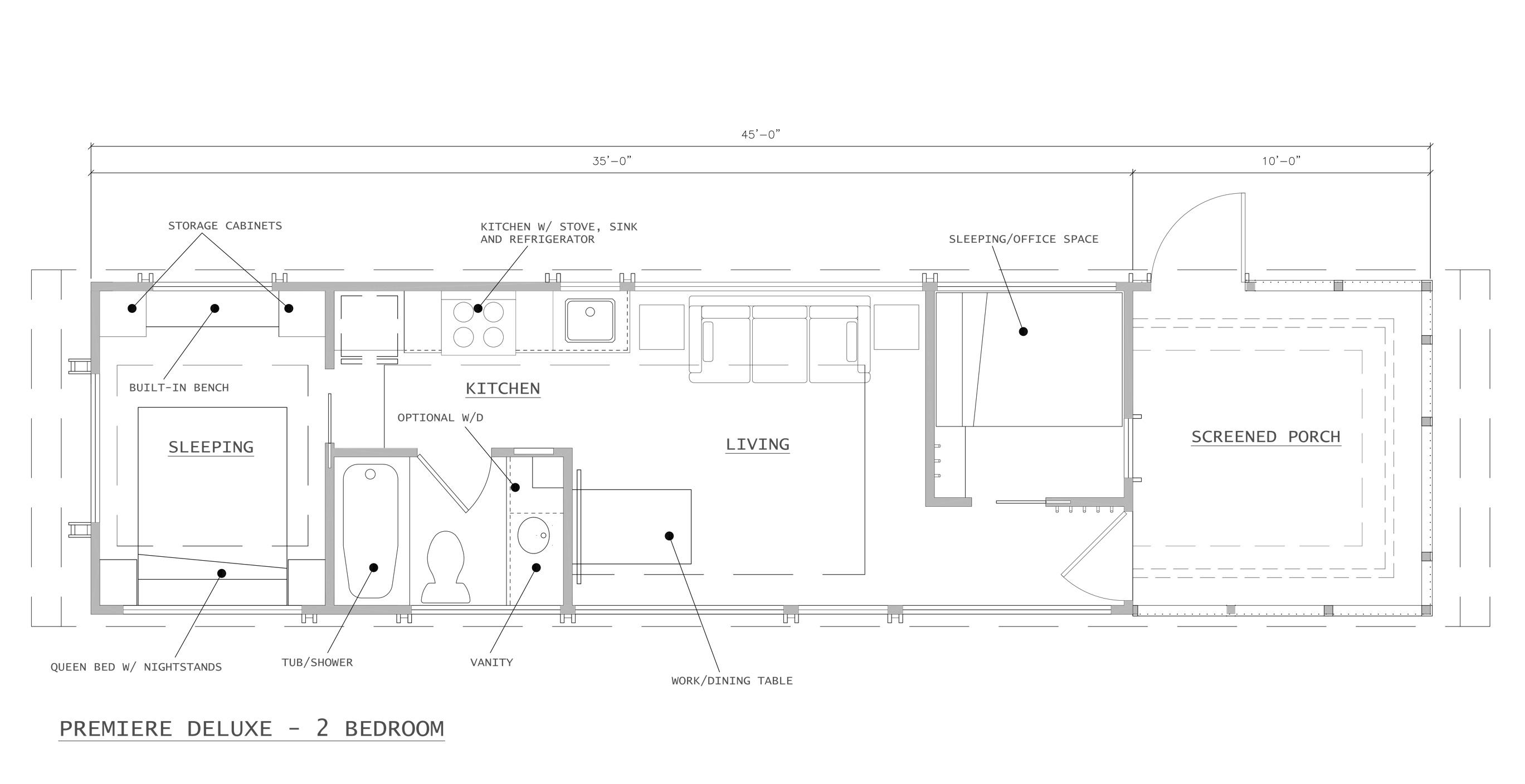 Premiere 2-Bedroom